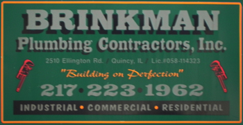 About Brinkman Plumbing, Quincy IL